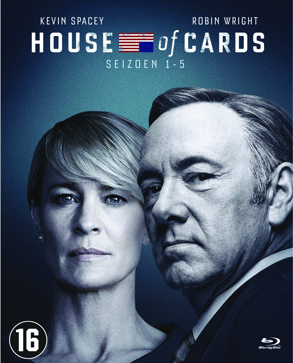 House Of Cards - Seizoen 1 t/m 5 (USA) (Blu-ray) voor €29,45