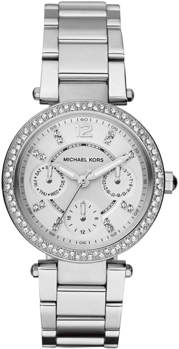 | Michael Kors Dames Horloge MK5615 Zilver