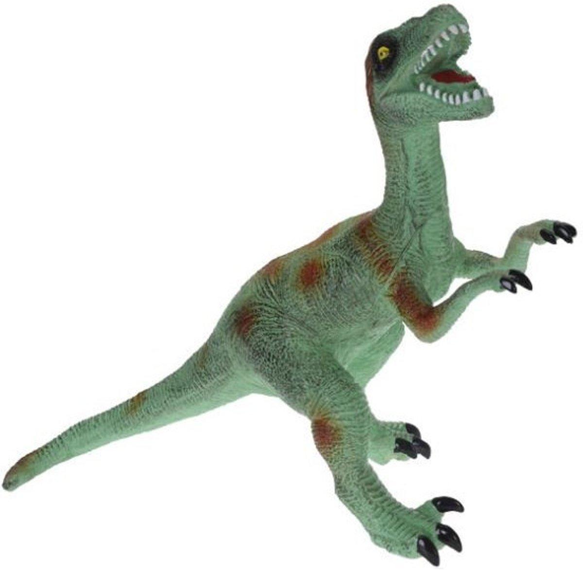 Tender Toys Dinosaurus T-rex 55 Cm Groen/oranje kopen