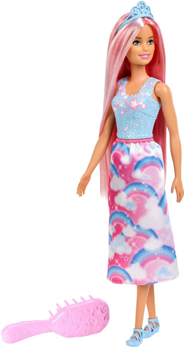 Barbie Dreamtopia haarpop