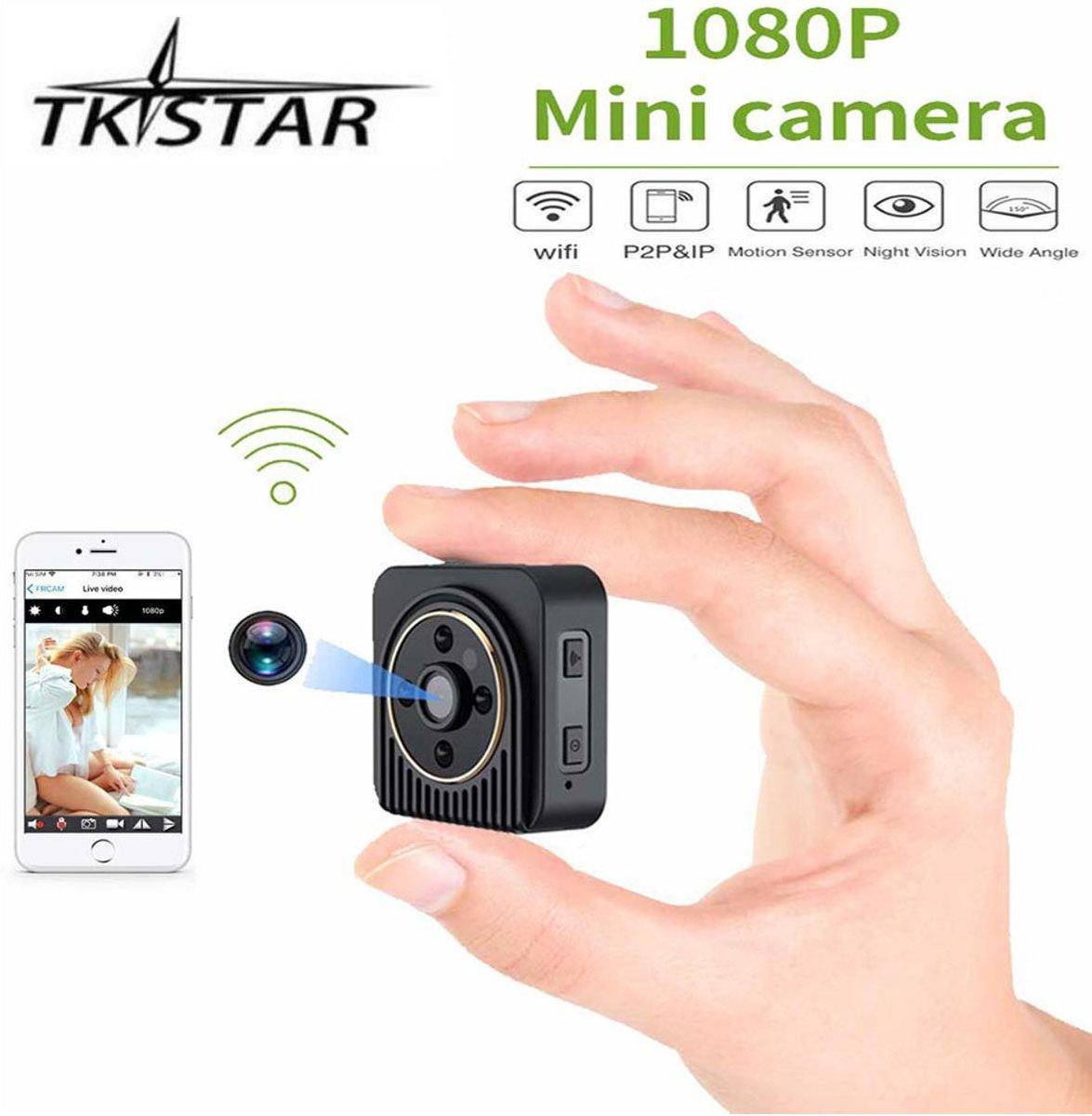 TKSTAR Spy Camera, draadloze wifi IP-camera HD DV verborgen videorecorder Nachtzicht Home Surveillance bewakingscamera kopen