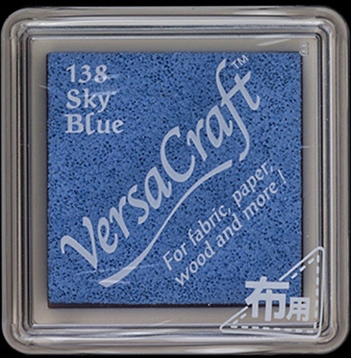 Versacraft Stempelkussen Klein Lucht Blauw