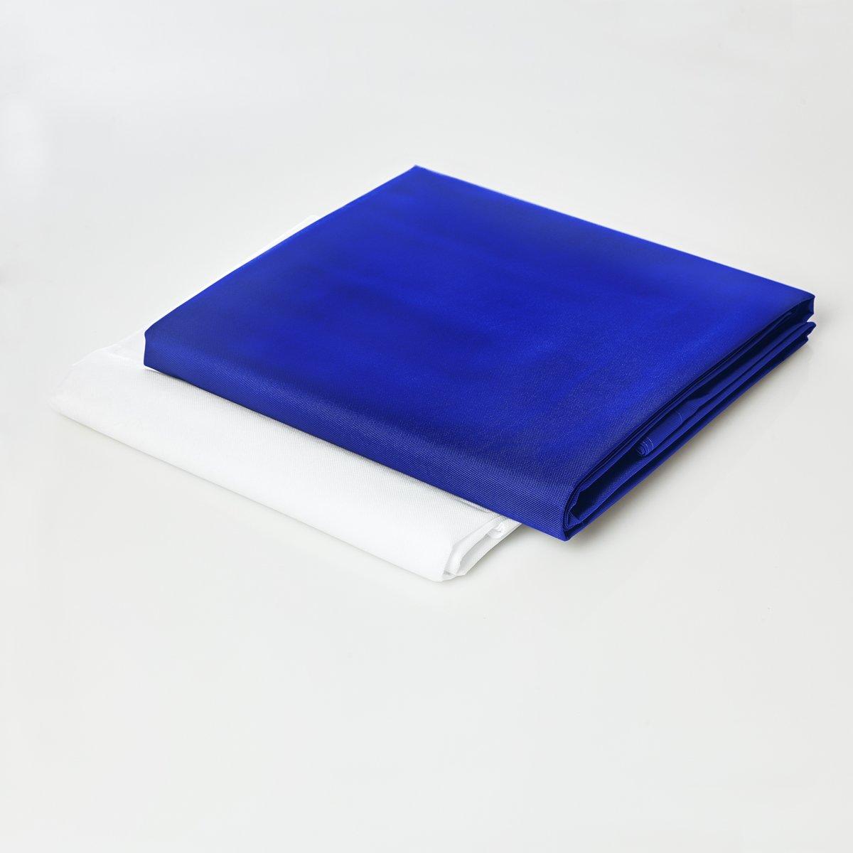 Lumaland - Hoes van luxe XXL zitzak - enkel de hoes zonder vulling - Volume 380 liter - 140 x 180 cm - gemaakt van PVC / Polyester - Royalblue kopen