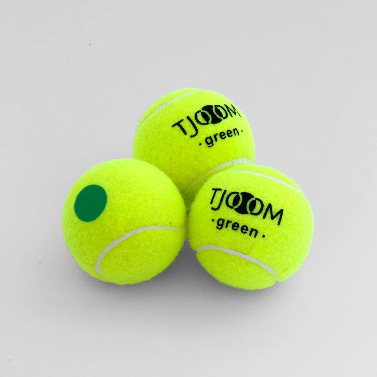 Tjoom green, stage 1 - Kidstennis - 60 ballen kopen