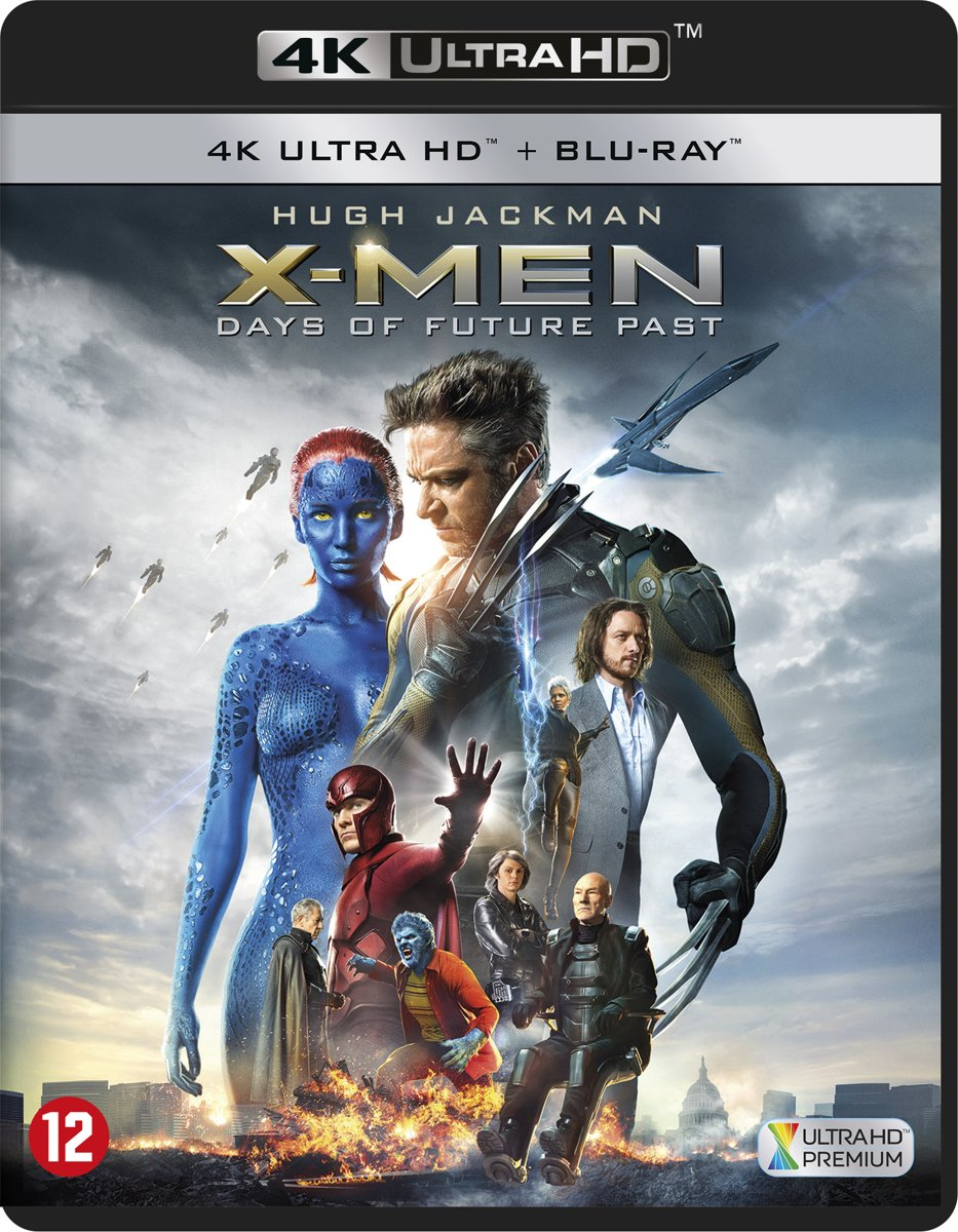 X-Men: Days Of Future Past (4K Ultra HD Blu-ray)-