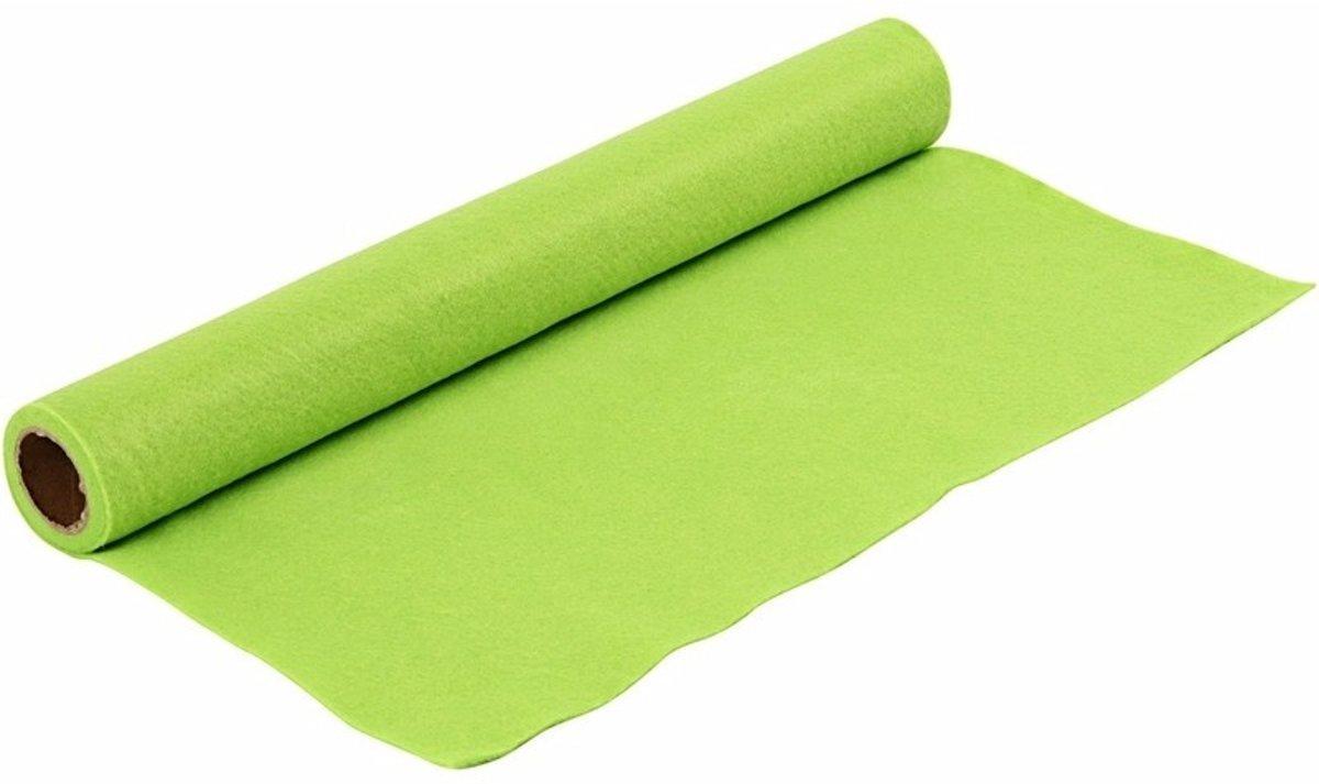 Hobby vilt licht groen 1,5 mm dik kopen