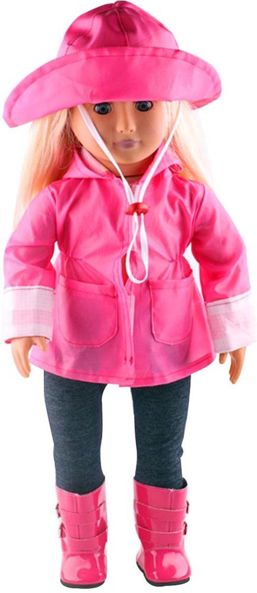 B-Merk Baby Born regenjas, roze