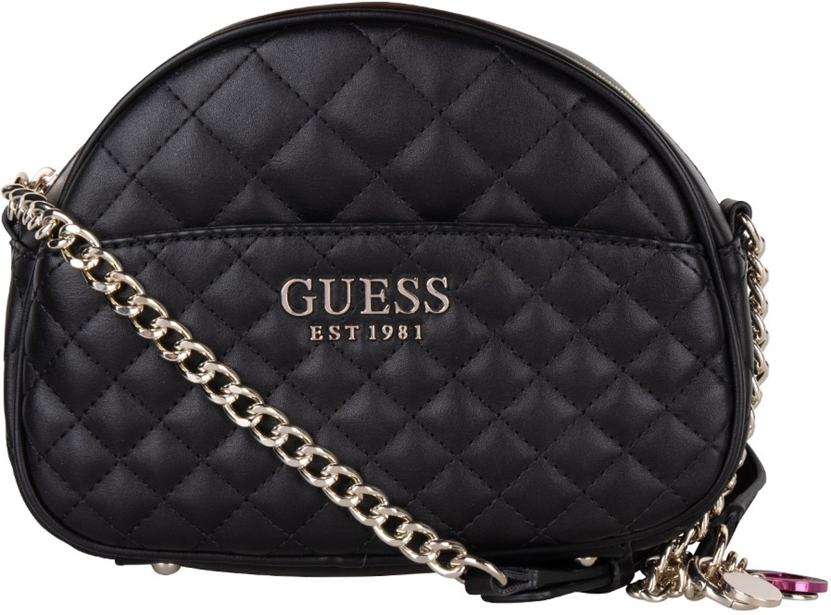 Guess Brielle Mini Crossbody Zwart
