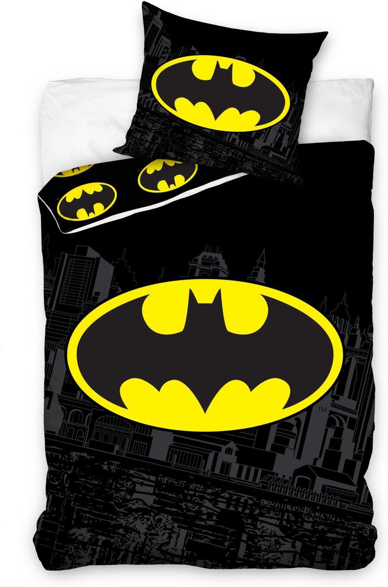 Dekbedovertrek Batman zwart 140 X 200 Cm kopen