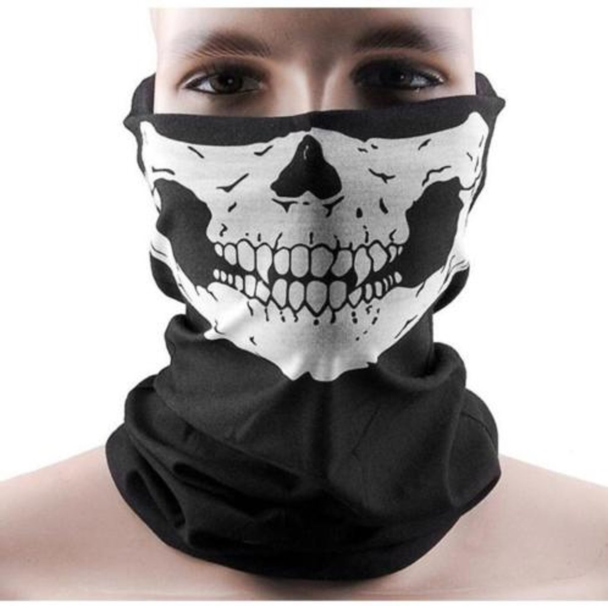 5Pcs Skull Multi Purpose Head Wear Hat Scarf Face Mask Cap
