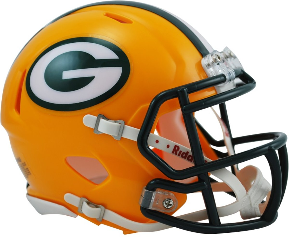 Riddell Replica Mini American Football Helm Packers