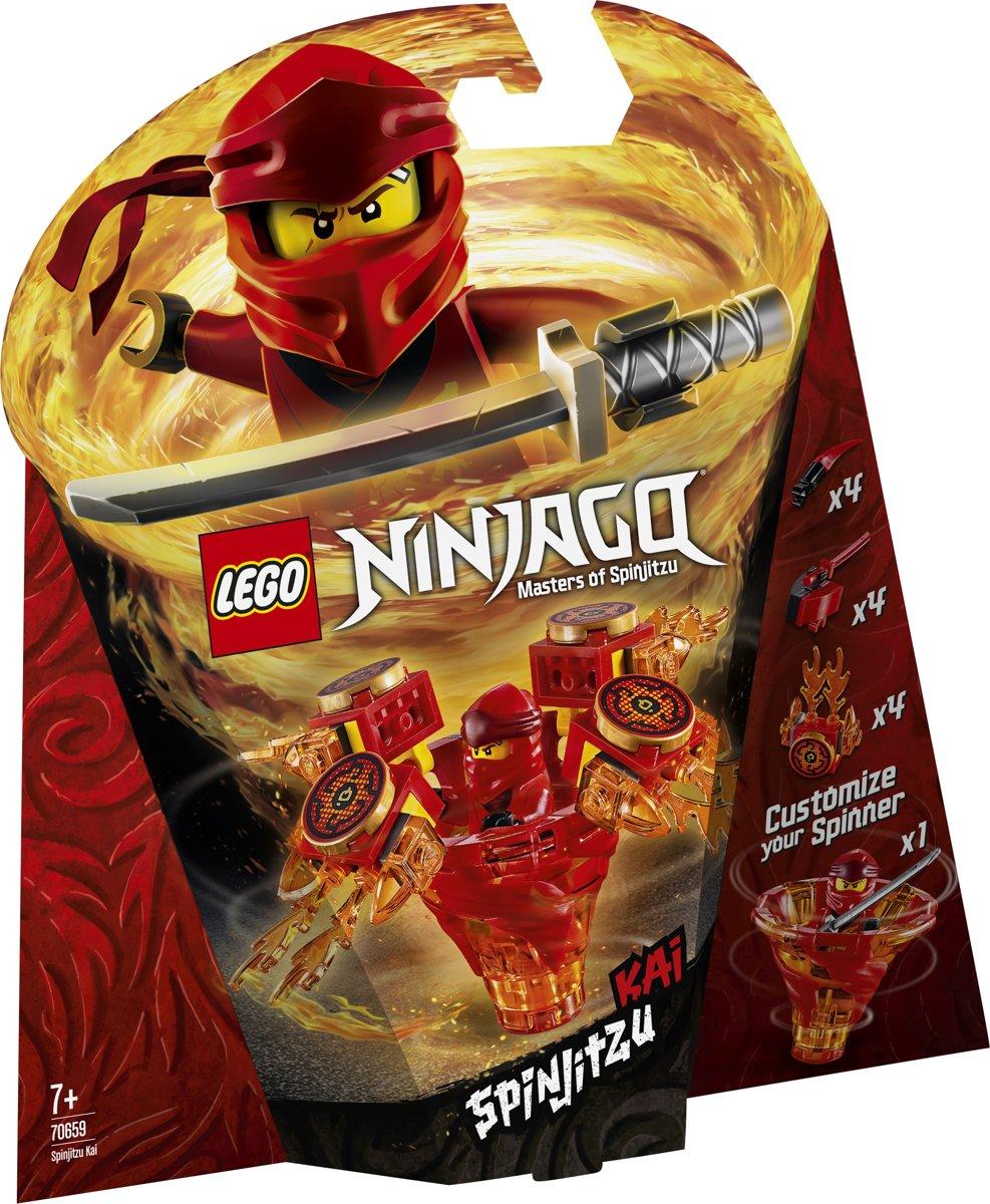 LEGO NINJAGO Spinjitzu Kai - 70659