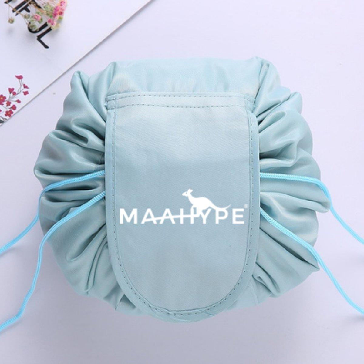 MaaHype Make-up organiser - Makeup opbergen - Accesoires organiser - Opbergsysteem - Reis toilettas - blauwgroen kopen