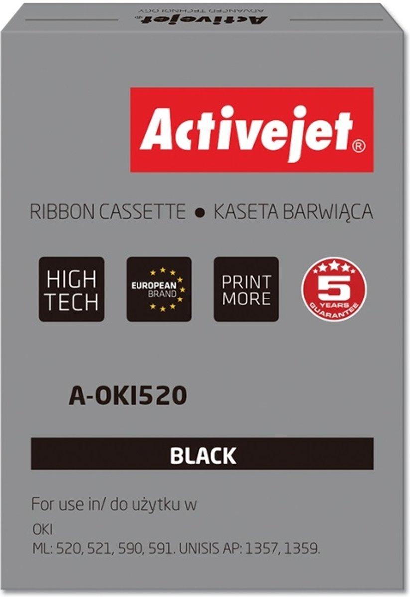 Activejet A-OKI520 printerlint Zwart kopen