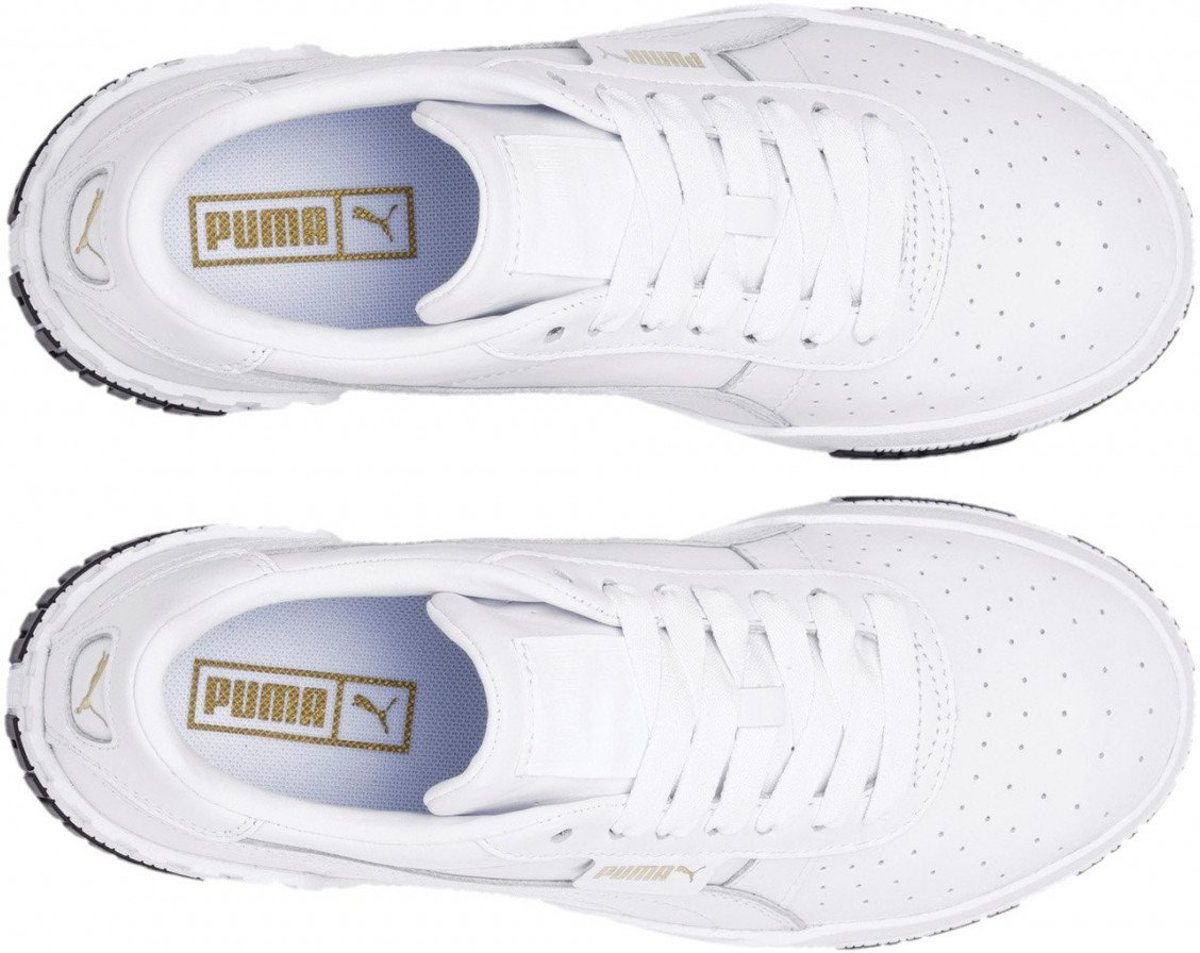 Puma Dames Sneakers Cali Bold Wns WhiteGold Wit Maat 40