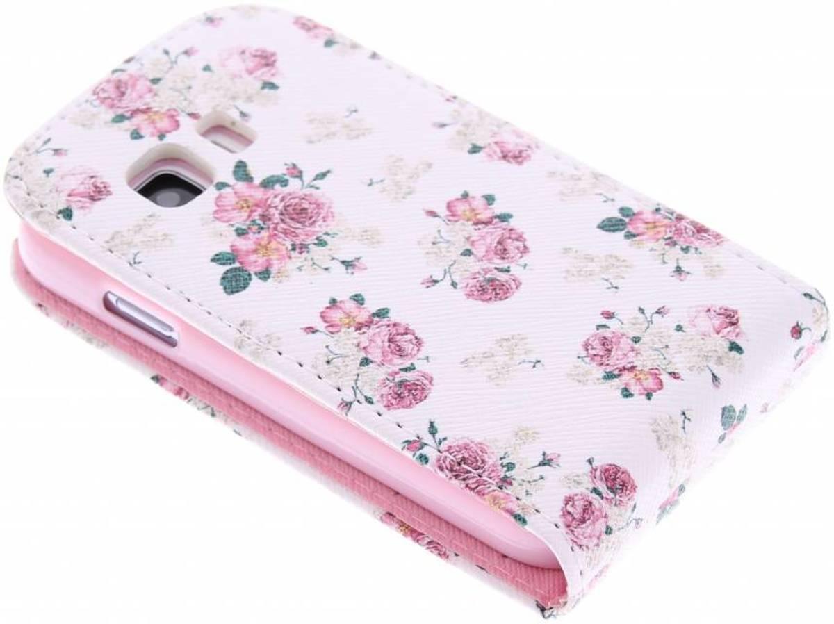 Fleurettes Conception Tpu Flip Pour Samsung Galaxy S 2 Jeunes dpZ4S5Ees
