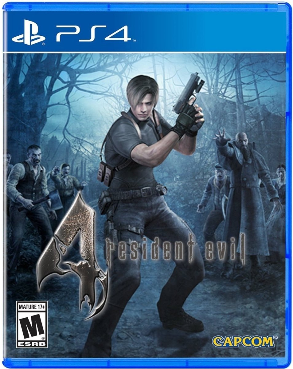 Resident Evil 4 Remastered PlayStation 4