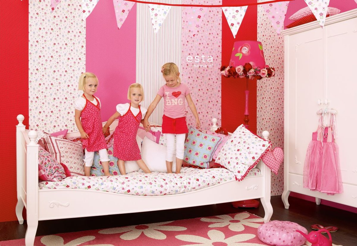 Behang Babykamer Romantisch : Romantische diy verwijderbare vinyl muurstickers black rose meisje