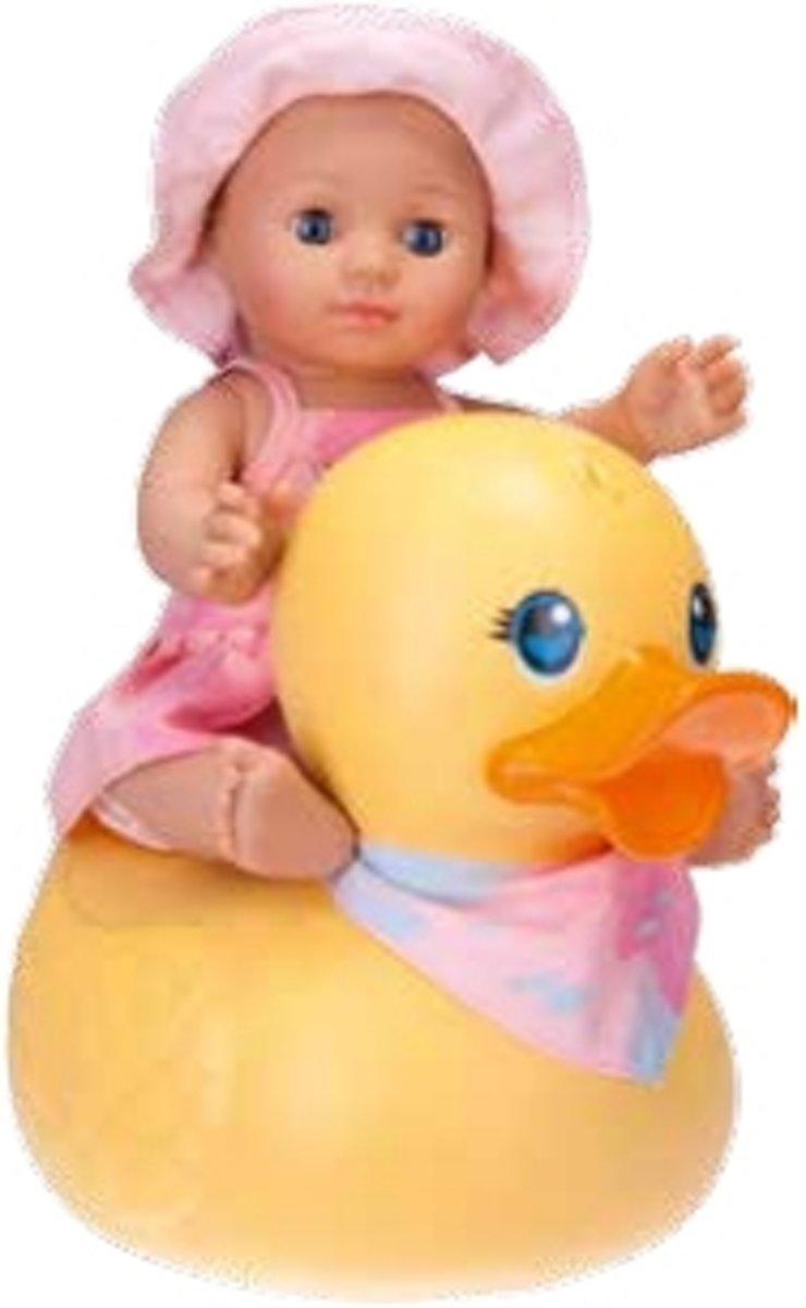 Schildkröt Kids Bathing Girl with Duck, 30 cm - pop