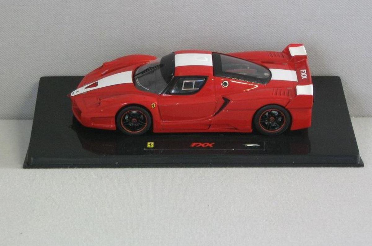 Ferrari 599 Gto 143 Hotwheels Elite Zwart T6932 Fxx Michael Schumacher Rood Wit N5605