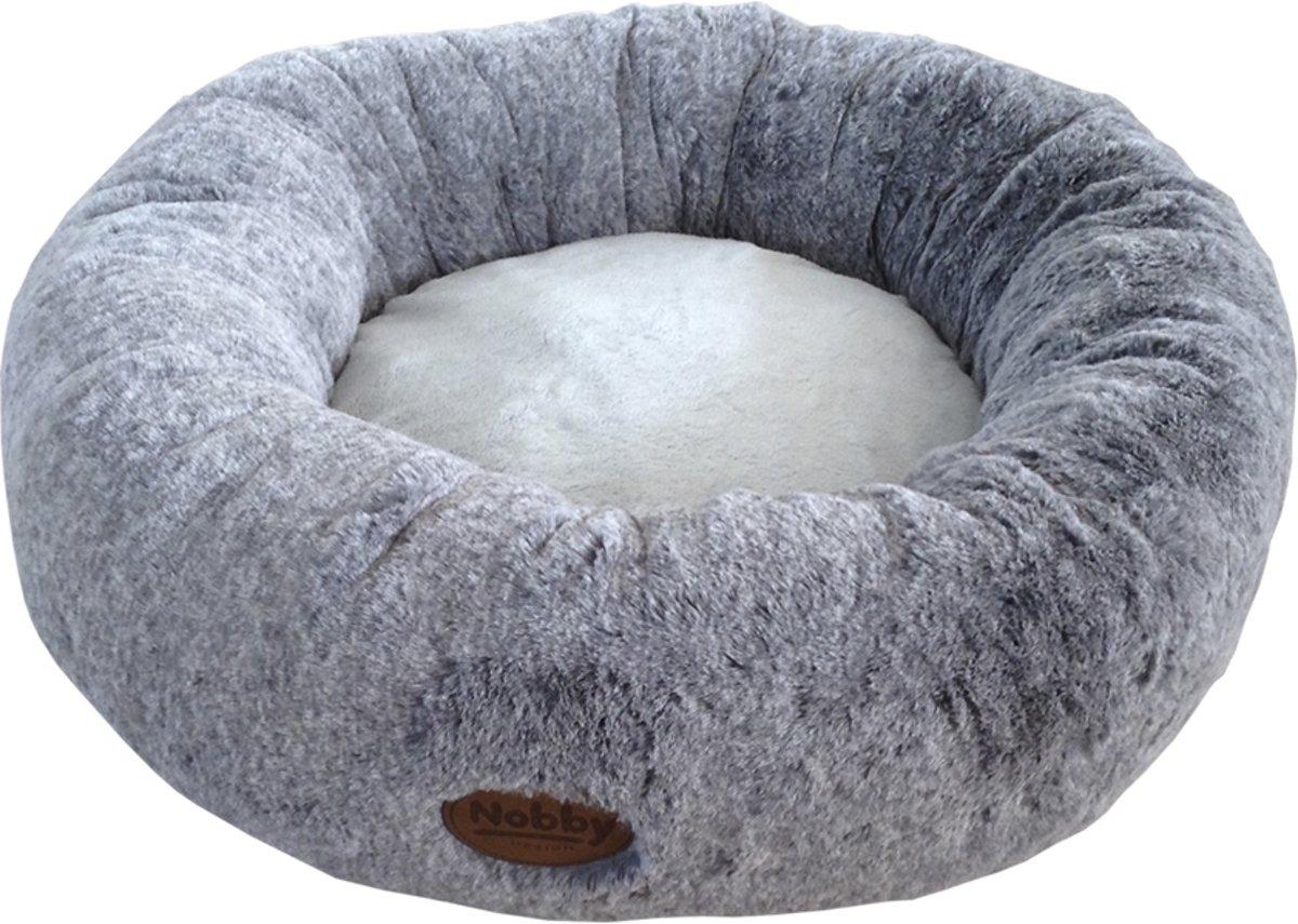 Nobby - mand Cuddly - rond - licht grijs 50 CM
