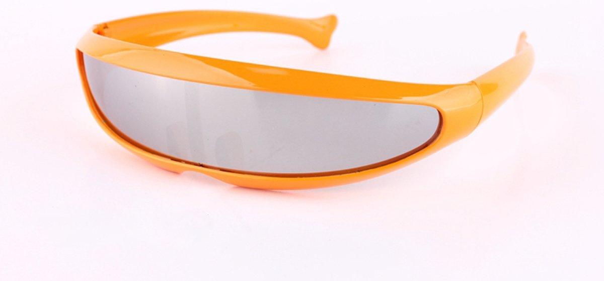 Snelle Planga Zonnebril Oranje