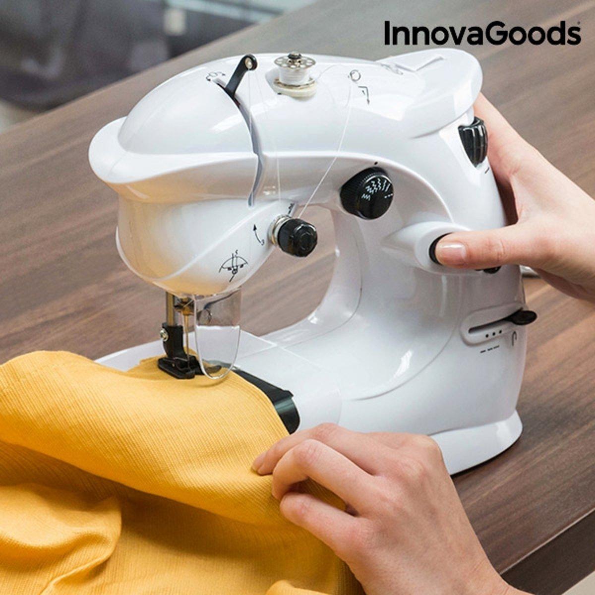 InnovaGoods Compacte Naaimachine 6 V 1000 mA Wit