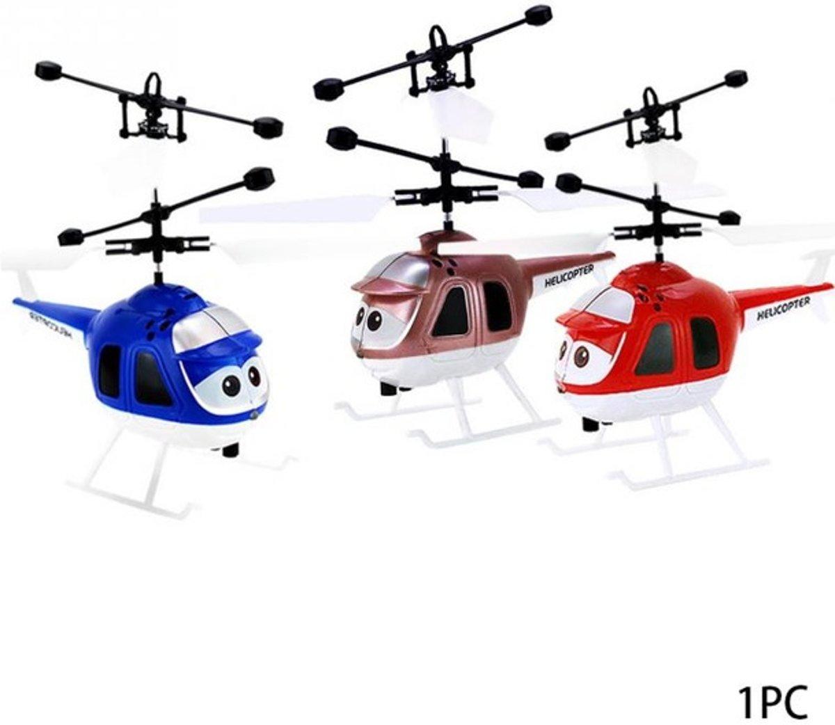 Hand inductie mini helikopter vliegt via de hand GRATIS VERZENDING