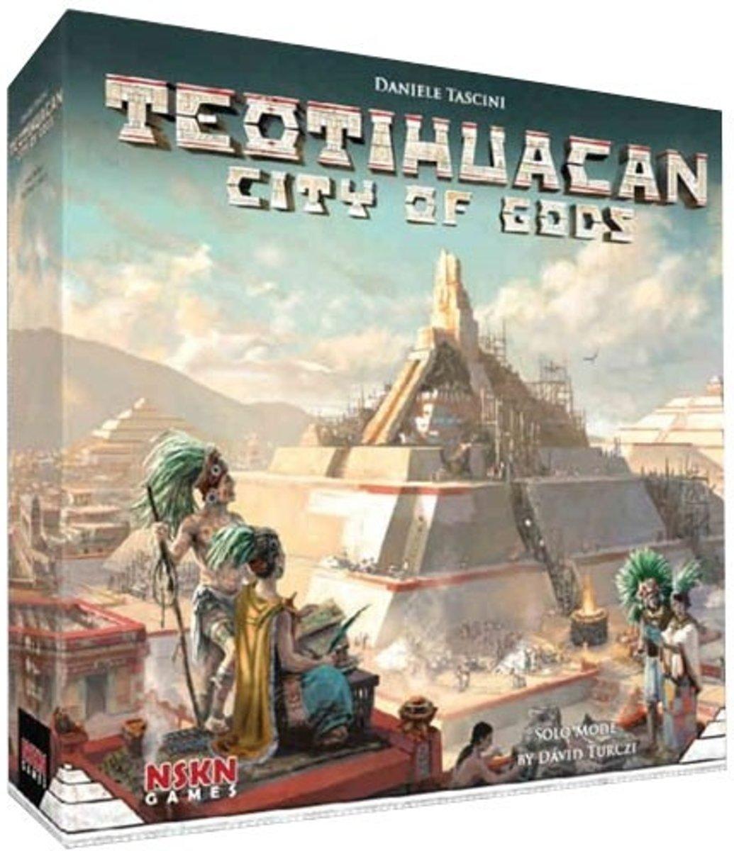 Teotihuacan: City of Gods Bordspel (Engelstalig)