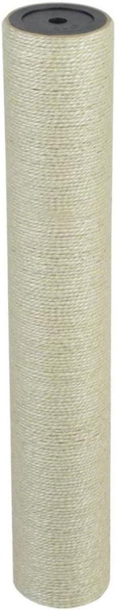 Kattenkrabpaal 8x50 cm 10 mm beige