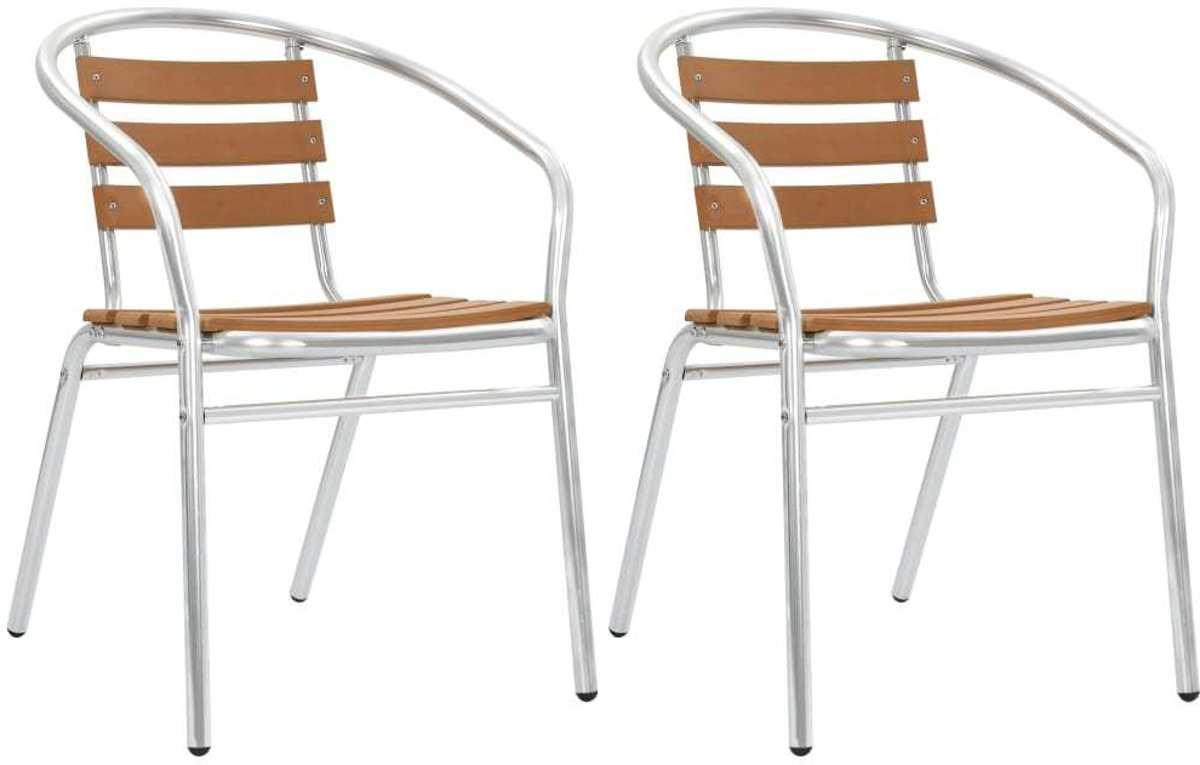 Tuinstoelen 2 STUKS / Tuin stoelen / Buiten stoelen / Balkon stoelen / Relax stoelen kopen