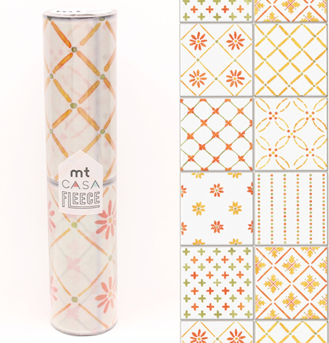 MT Casa Fleece tile orange
