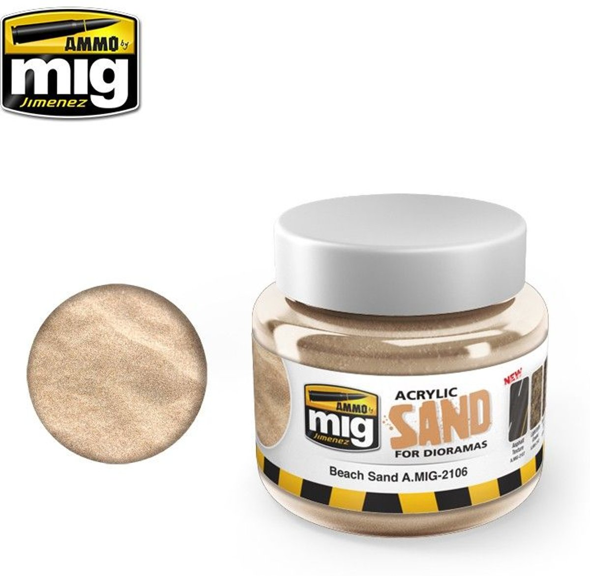 Mig - Sand Ground 250 Ml. (250 Ml) (Mig2106)