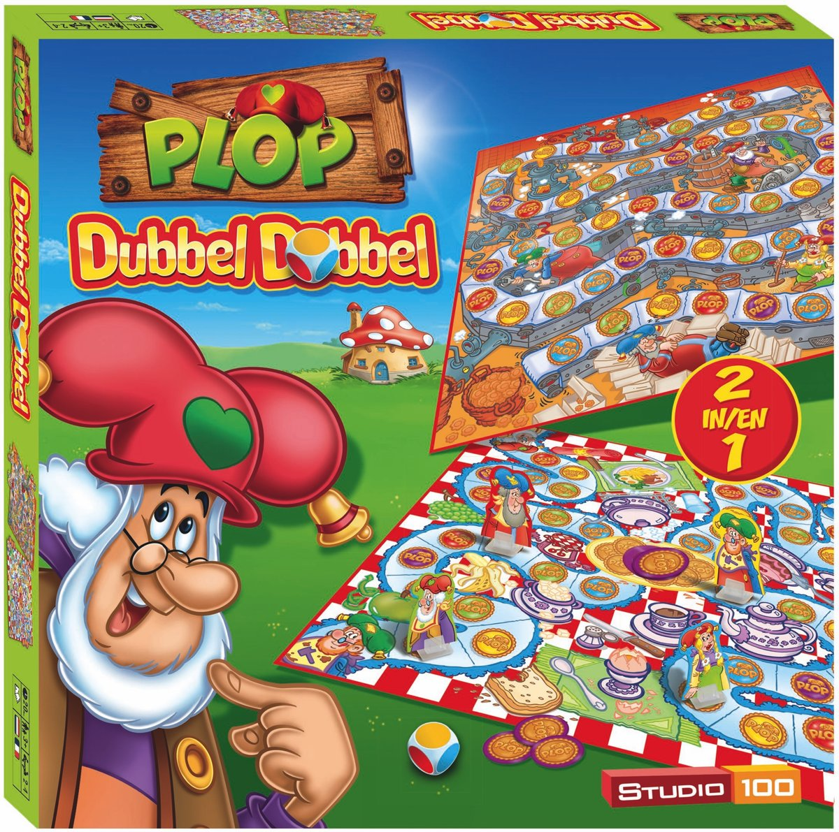 Plop Spel - Dubbel Dobbel (Nieuwe versie)