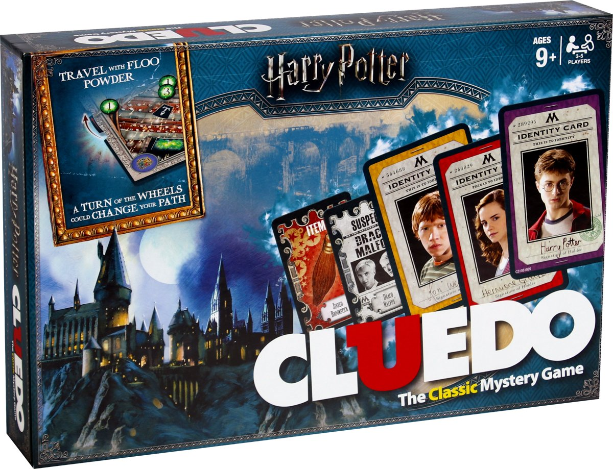 Cluedo Harry Potter - Engelstalig Bordspel