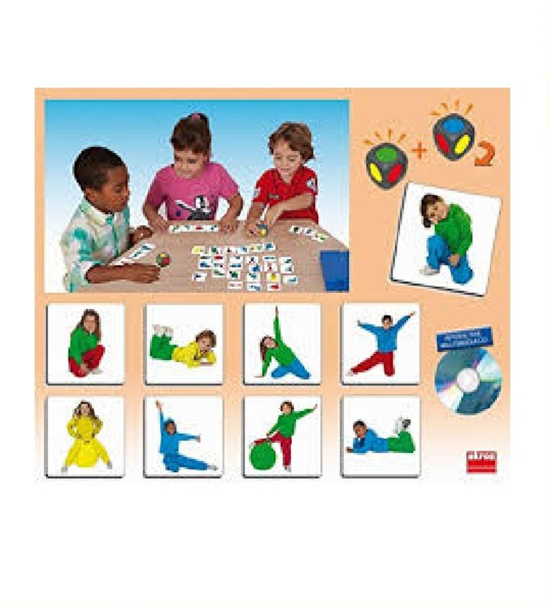 Akros - Speelkaarten - Zoek de kleuren