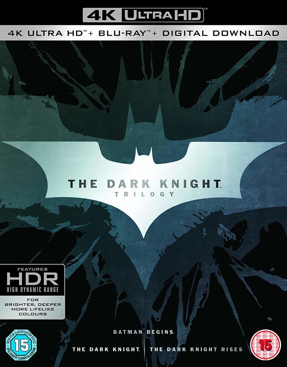 Dark Knight Trilogy (4K UHD HD blu-ray + blu-ray) (Import)-