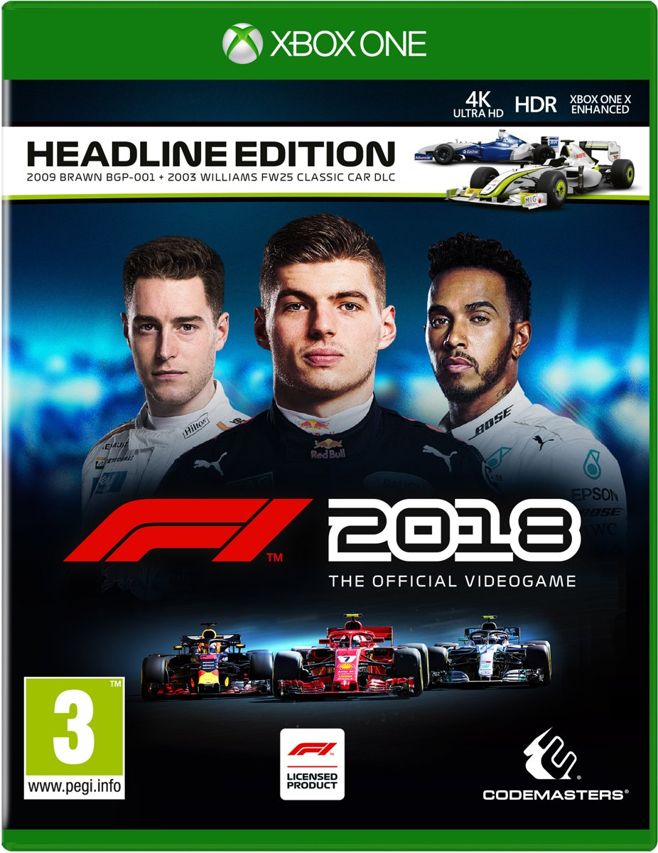 Formula 1 F1 2018 Headline Edition Xbox One