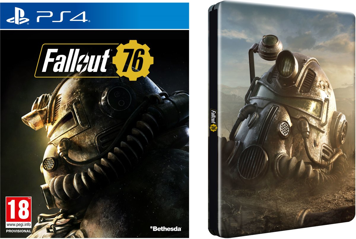 Fallout 76 Steelbook Pack PlayStation 4