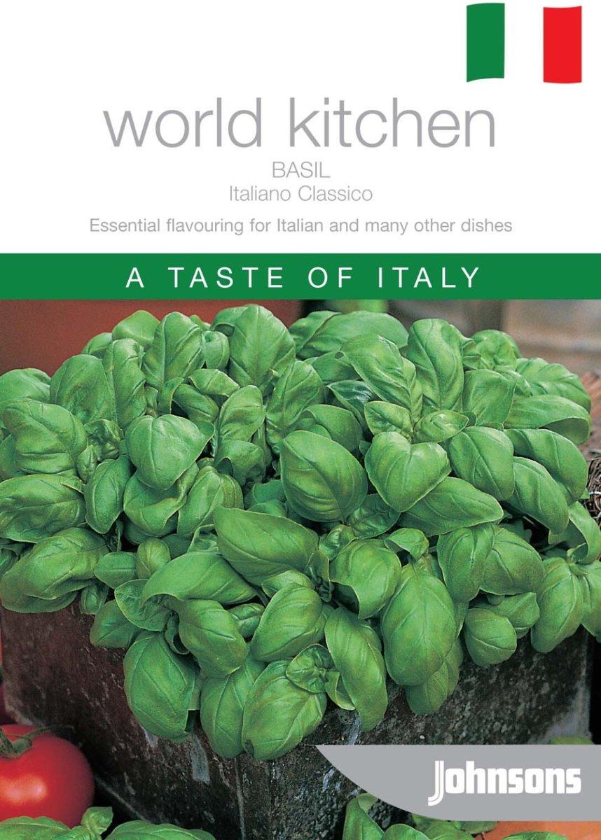 Basilicum Italiano Classico - 7 sets