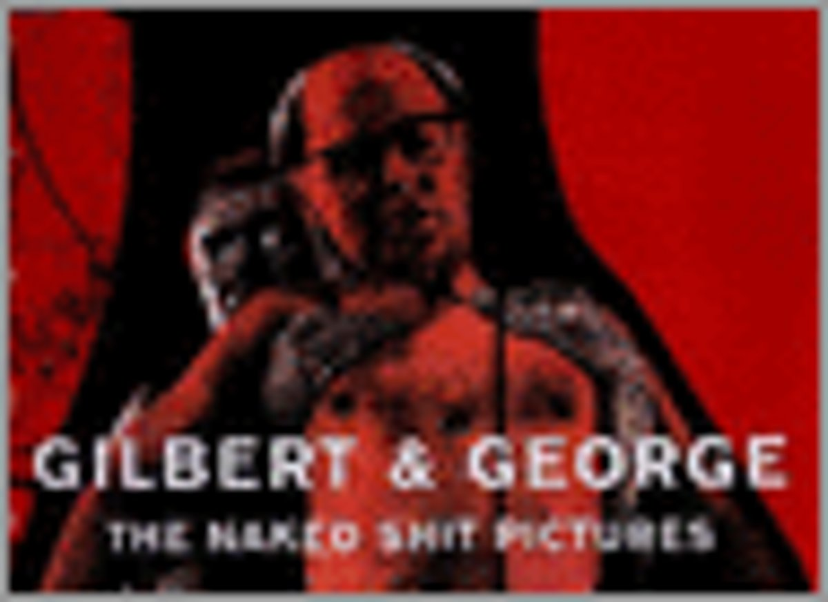 gilbert and george naked shit - YouTube