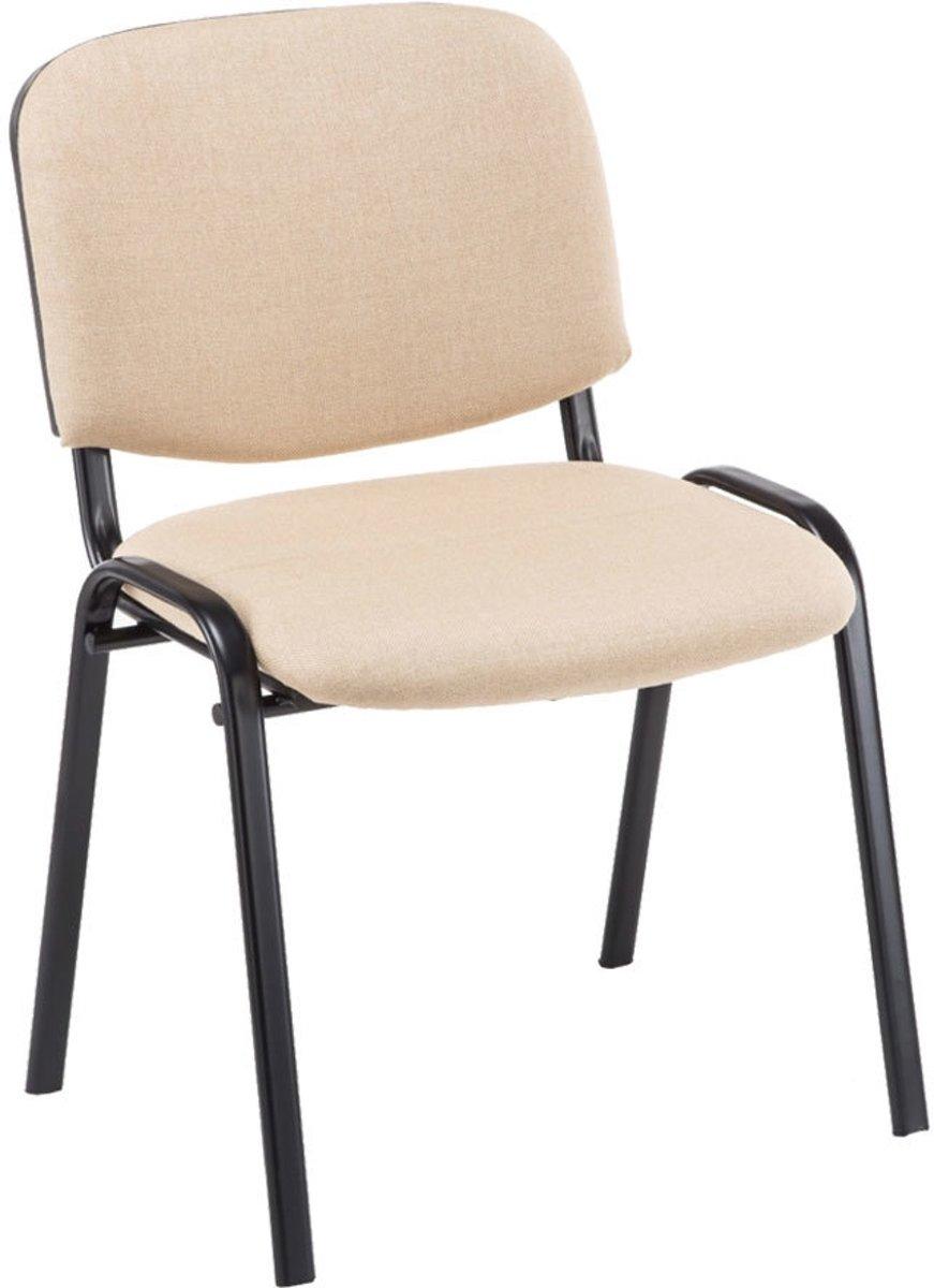 Clp Ken - Bezoekersstoel - Stof - creme kopen