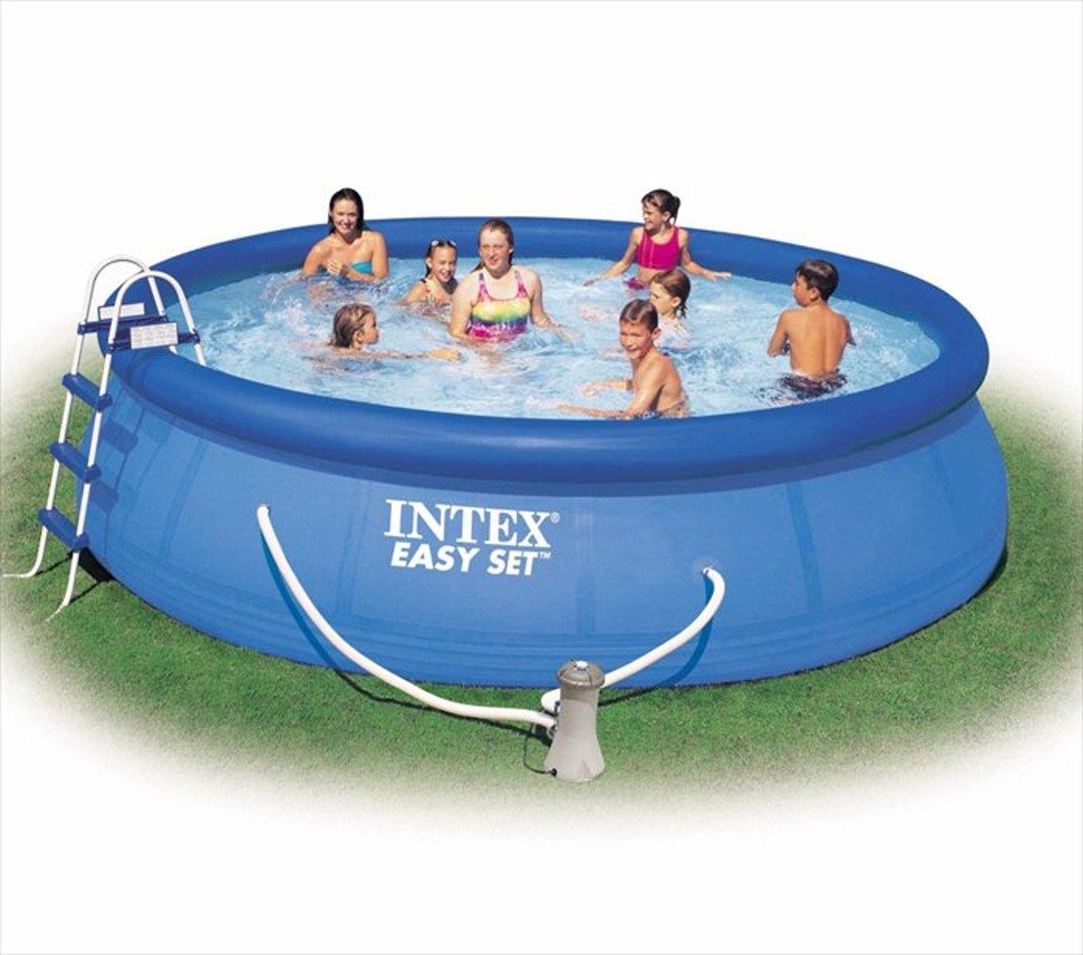 Intex Easy Set zwembad 457x 122