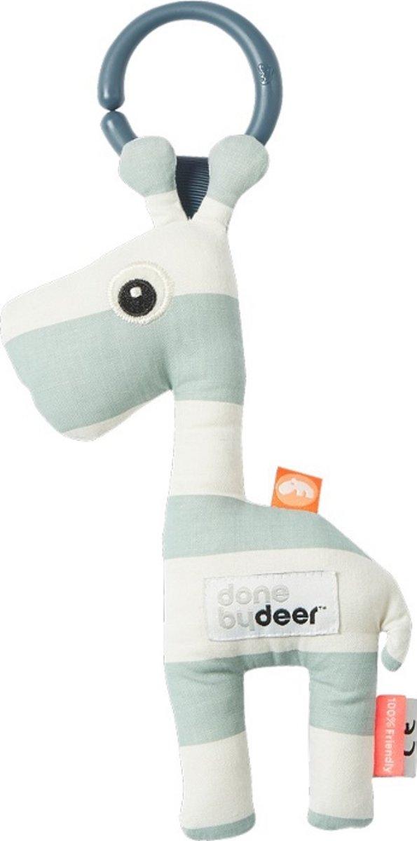 Knuffel Met Ophangring Raffi Blauw Done By Deer