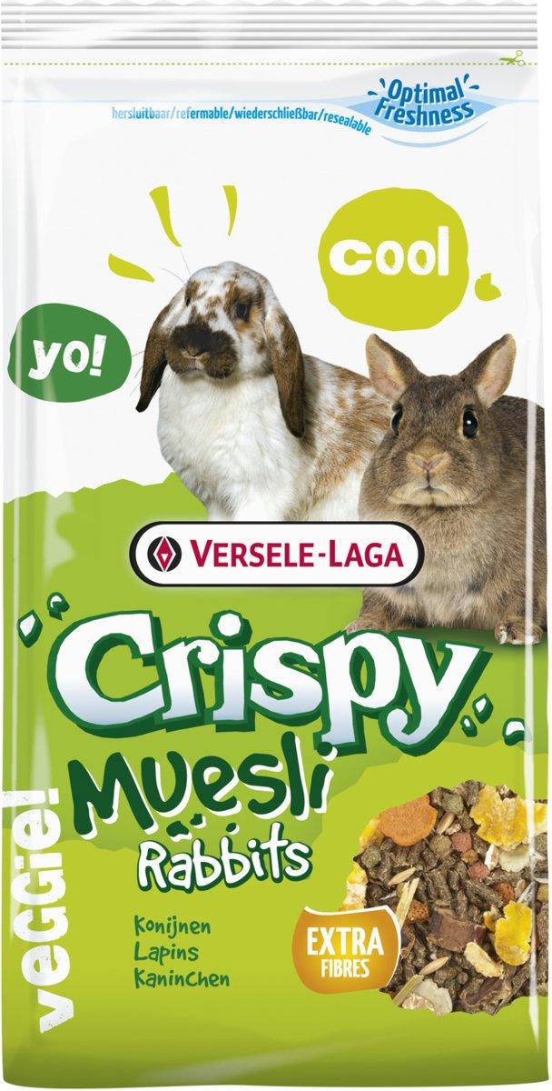 Versele-Laga Crispy Cuni - Konijnenvoer - 2,75 kg