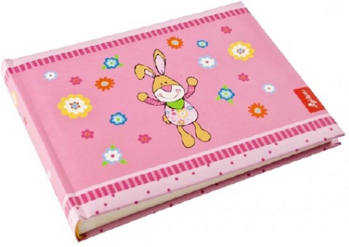 Babyalbum Bungee Bunny Sigikid in pink