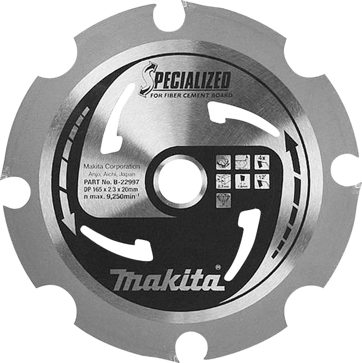 Makita B-23014 Zaagb PCD 260x30x2,5 6T 8g