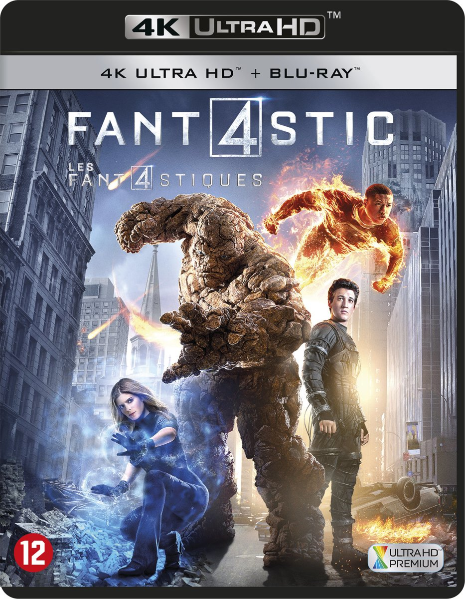 Fantastic 4 (2015) (4K Ultra HD Blu-ray)-