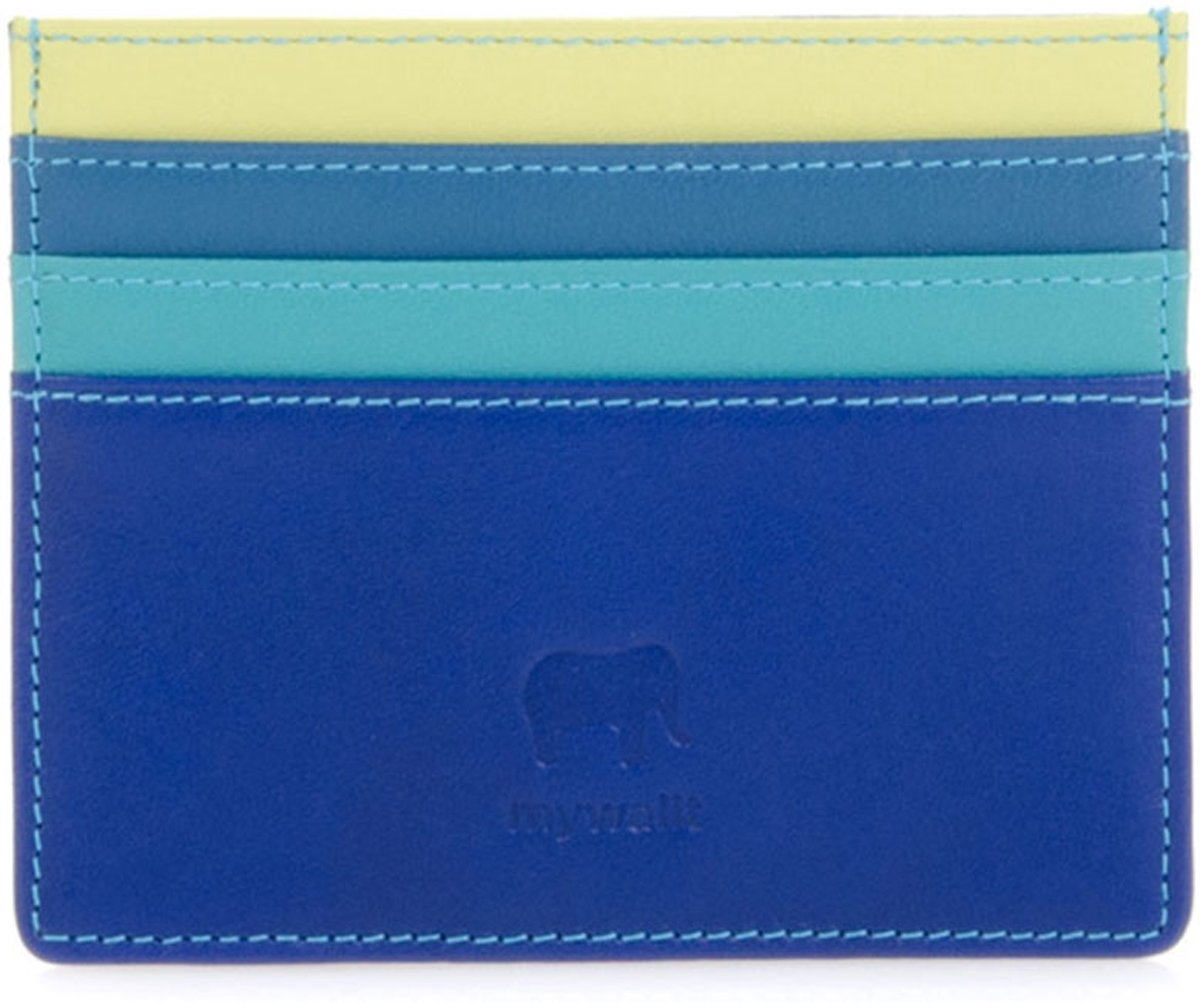 4935c268eec bol.com | Mywalit Double Sided Credit Card Holder Pasjeshouder Seascape  MYW-160-92-N