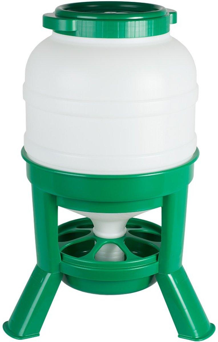 Hopper Feeder 30ltr. plastic groen kopen